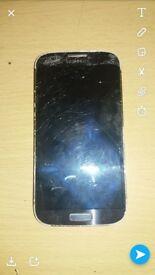 samsung galaxy s4 smashed screen still works fine