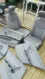 BMW E90 SEATS AND DOOR CARDS