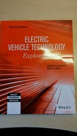 Electric Vehicle Technology Explained, Student Edition, Lowry