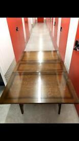 Quality Vintage Solid Wood Folding Leaf Table