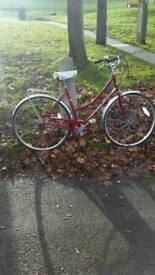 Vintage laidies 3 speed bike