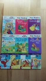 10 hardback First readers children books (M&S and Ladybird)