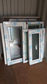 VEKA triple glassed uPVC casement windows (outside Golden Oak, inside White)