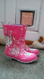 ***Joules new Molly wellies size 5/38, ladies***