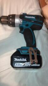 Makita DHP458 Cordless Drill