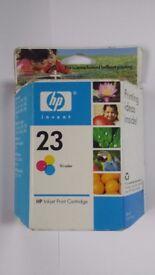 HP 23 Ink Cartridge - Brand NEW