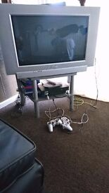 Home Television with Stand 📺 for sale 50pounds