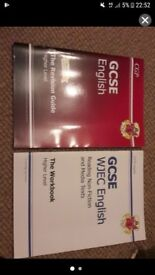 GCSE and WJEC english revision and workbook