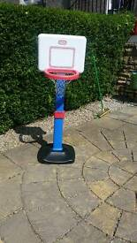 Little Tikes Basket Ball hoop and stand