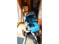 Quinny Baby/Toddler Travel System plus raincover, winter insert and baby car seat adapters