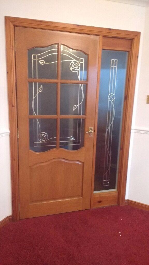 Solid wood internal doors all doors 10 in for Upvc french doors glasgow