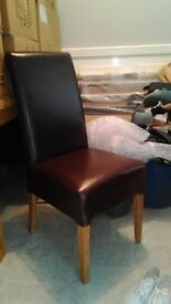 Set of 6 Dining Chairs Mint Condition
