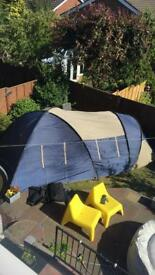 Tent - perfect for those wishing to try camping. No pegs.
