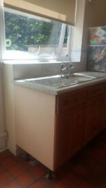 Units , worktops and sink for sale