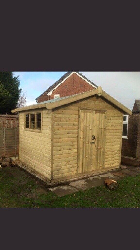 garden shed 10x8
