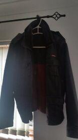 Leather Superdry jacket