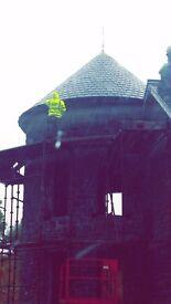 Roofing gang available for price work all over uk slating tiling felt and batten etc