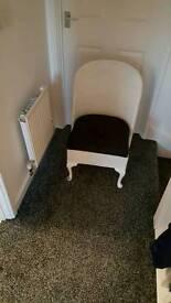 Bedroom/Bathroom Chair