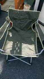 4 x camping caravanning picnic folding chairs.