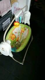Mothercare spacesaver swing seat