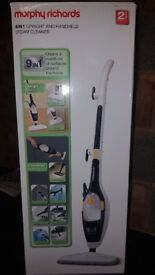 Morphy Richards 9-in-1 Steam Cleaner - White