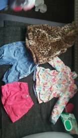 Girls clothes size 9-12 months