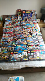 LEGO SUPERHEROES COMPLETE SETS WITH BOXS/INSTRUCTIONS/FIGURES