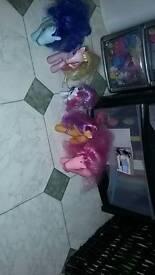 5 my little pony's