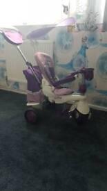 Smart trike splash-purple