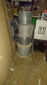 Twin & Earth and earth cables Ph: 07922603555