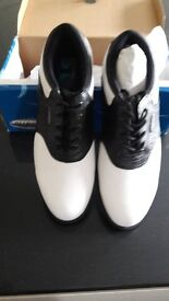 Size 11 Leather Golf Shoes Brand New
