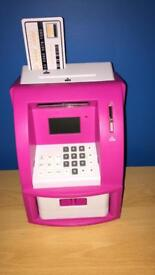 Cash Machine Saving Bank