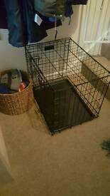 Small Dog crate, used once.