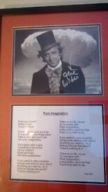 Genuine Gene Wilder Autographed Picture