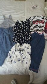 Beautiful bundle of baby girl clothes 9-12 months