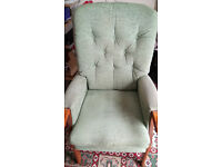 sturdy & comfortable relaxing / reading chair delivery available