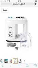 Tommee tippee steamer blender
