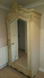 French Style Armoire off white colour