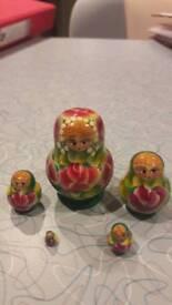 Miniature Russian dolls