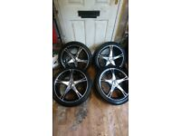 17inch alloy wheels