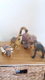 ELC Dinosaurs ( Incls. Dinosaur Book )