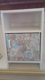 Cabinet with maps