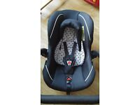 Infant silver cross car seat