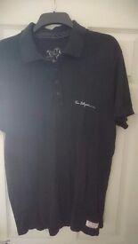 True religion signature polo black size xl