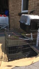 Dog cage and dog cat box