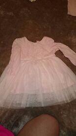 Next pink tutu dress