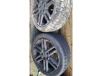 Vauxhall vectra alloys with new tyres