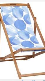 Garden deck folding chairs