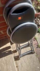 1 folding chair
