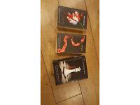 3 x STEPHANIE MEYER TWILIGHT BOOKS